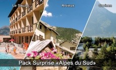 Pack surprise en Alpes du Sud