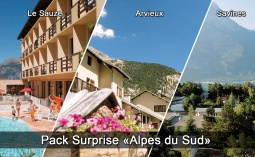 Pack surprise Alpes du Sud