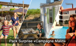 Pack Surprise Campagne Malin