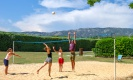 Beach volley aux Florans