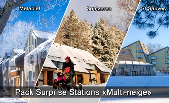 Pack Surprise Station Multineige